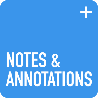 Notes and Annotations