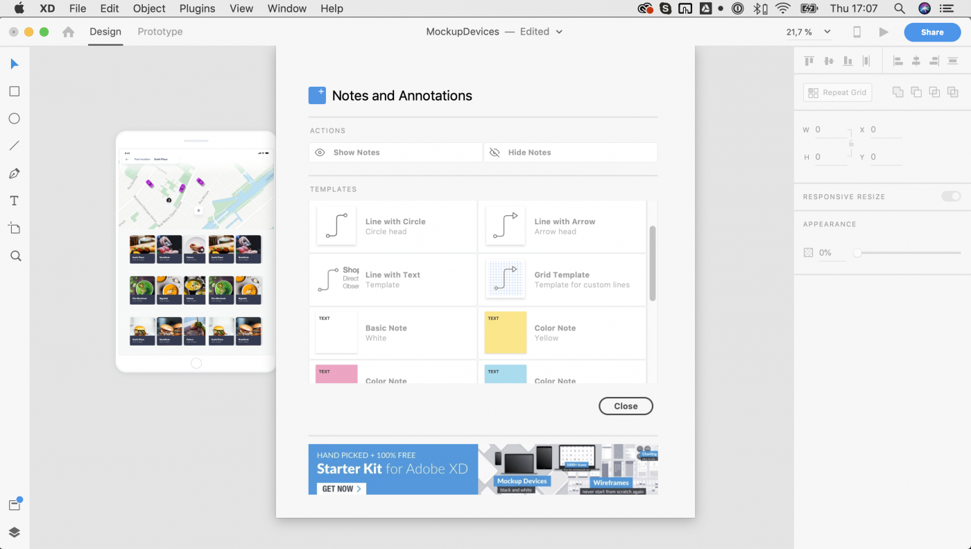 Notes and Annotations - Tour de XD: Everything Adobe XD